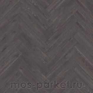 Kronotex Herringbone D 6010 Дуб Эльба черный