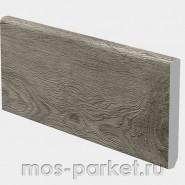 Каменно-полимерный плинтус Grand Sequoia 11-8 Венге Грей   Alpine Floor