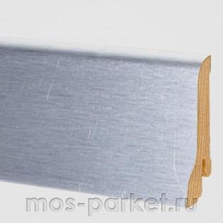 Плинтус Pedross Аллюминий светлый 60×15 мм