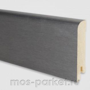 Плинтус Pedross Алюминий тёмный 70x15 мм