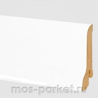 Плинтус Pedross Белый гладкий 58x20 мм