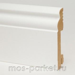 Плинтус Pedross White 5535 белый фигурный 100x18 мм