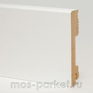 Плинтус Pedross White 5912 белый прямой 70x18 мм