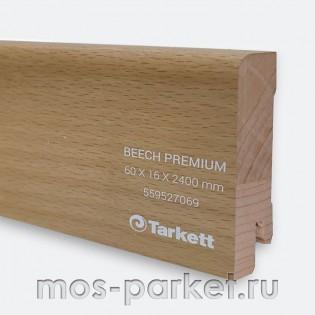 Плинтус Tarkett Бук Премиум 60×16 мм