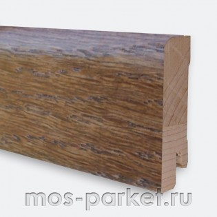 Плинтус Tarkett Дуб Шоколад 60×16/23 мм
