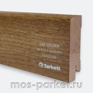Плинтус Tarkett Дуб золотой 60×16 мм