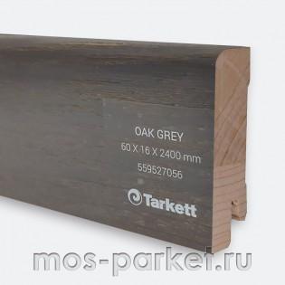 Плинтус Tarkett Дуб серый 60×16 мм