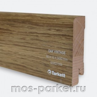 Плинтус Tarkett Дуб Винтаж 60×16/23 мм