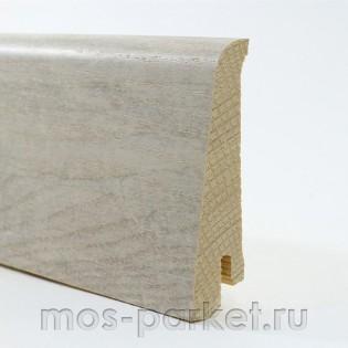 Плинтус Tarkett Art Уайт Канвас 80×20 мм