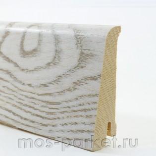 Плинтус Tarkett Art Белая Москва 80×20 мм