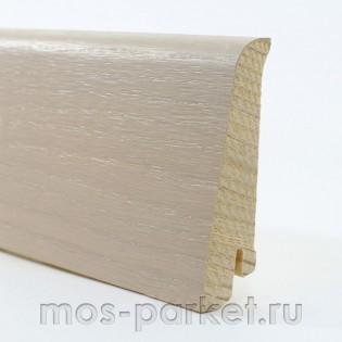 Плинтус Tarkett Tango Дуб Робуст белый 80×20 мм