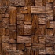 Деревянные стеновые панели Crownwood WP3D5051 Хауз мокко