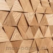 Деревянные стеновые панели Crownwood WP3DT021 Трой спил