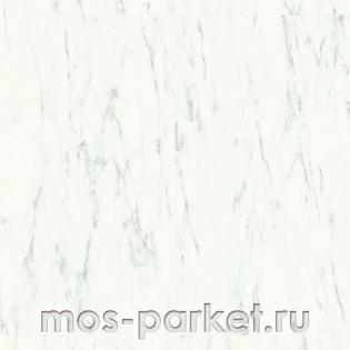 Quick-Step Alpha Vinyl Tiles AVST40136 Мрамор каррарский белый
