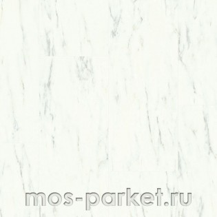 Quick-Step Ambient Click AMCL40136 Мрамор каррарский белый