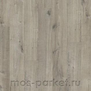 Quick-Step Pulse Click PUCL40106 Дуб хлопковый темно-серый пиленый